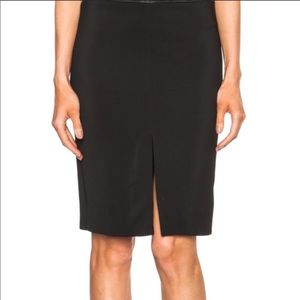 Chloe Front Split Knee Length Pencil Skirt